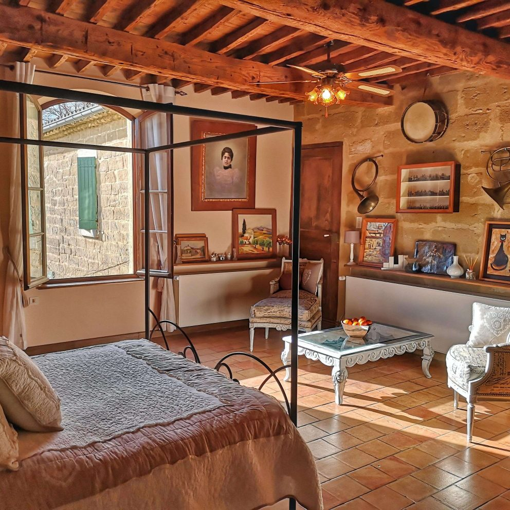 Luxury room in Uzès